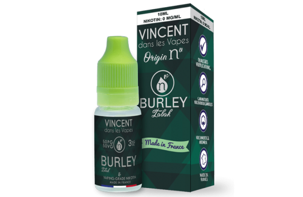 Burley Tabak Liquid Origin Nv Vincent