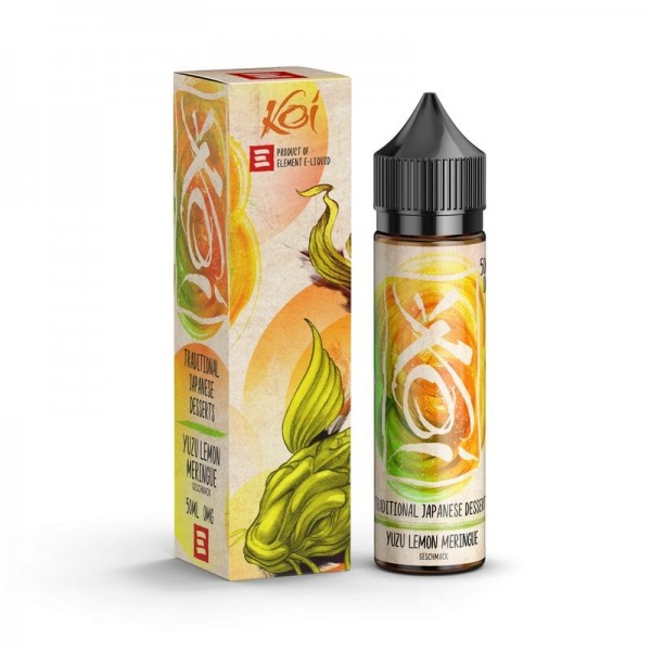 Yuzu Lemon Meringue Liquid KOI by Element