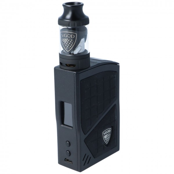 VGOD Pro 200 E-Zigaretten Kit Schwarz E-Zigarette
