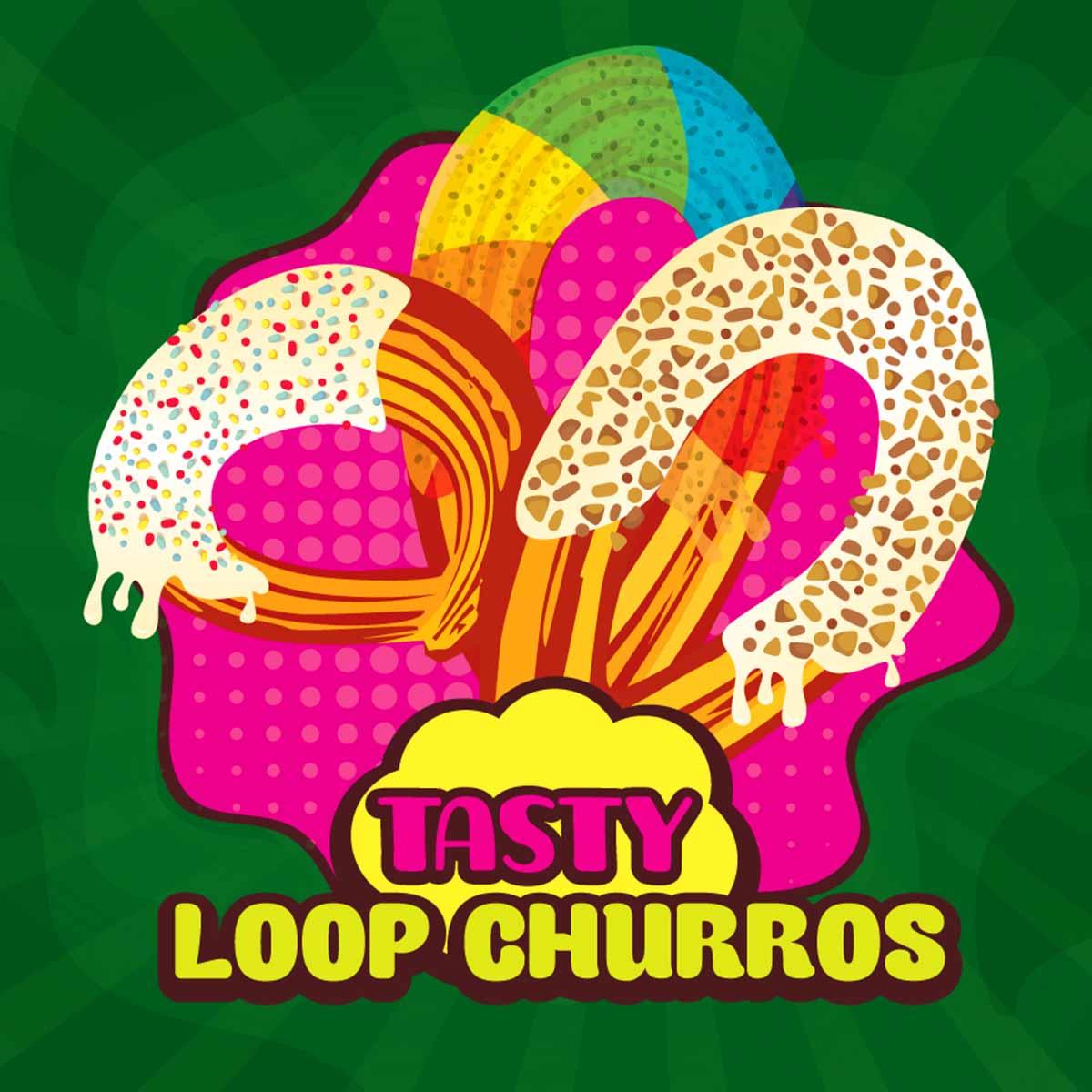 Loop Churros Aroma Tasty Big Mouth Pixy Plus Viva