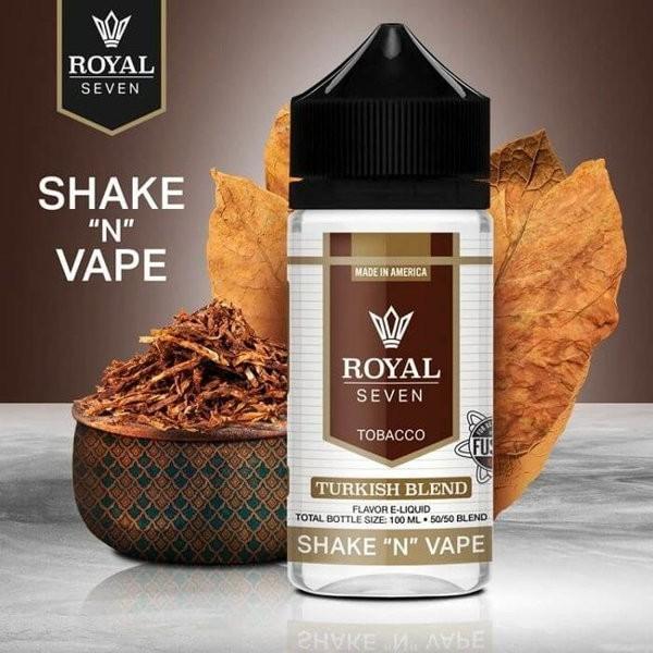 Turkish Blend Shortfill Liquid Syndicate Royal Seven