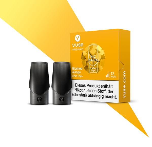 Blushed Mango Nic Salts Caps Vuse ePen
