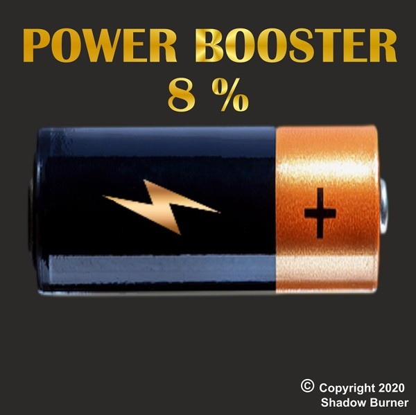 Power Booster 8% Aroma Shadow Burner