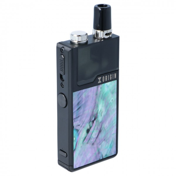 Lost Vape Origin DNA Go Kit Schwarz Ocean Scallop Feuertaster