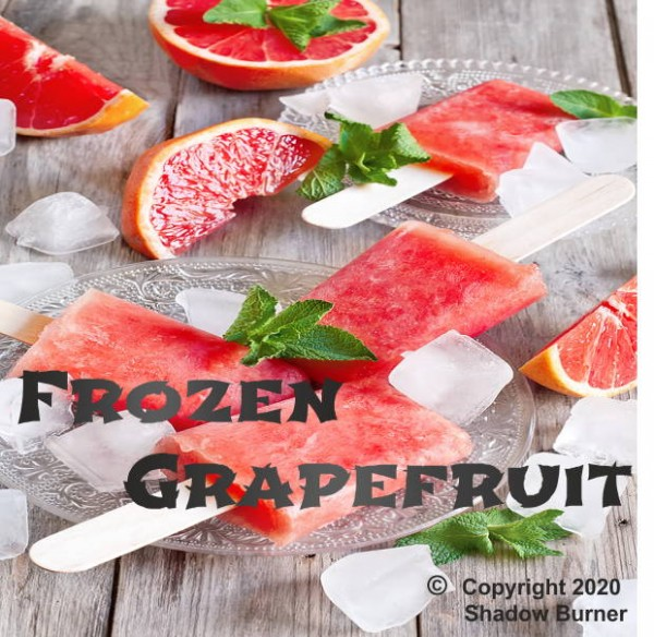 Frozen Grapefruit Aroma Shadow Burner