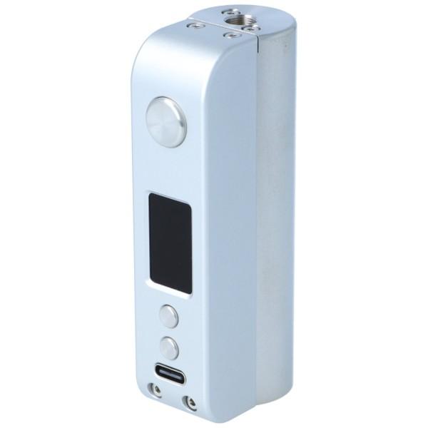 Cthulhu Hastur Mod 88W Akkuträger Silber USB-Port
