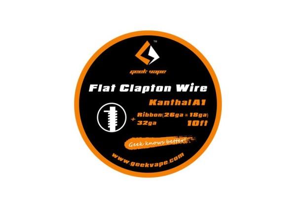 Geekvape Kanthal A1 Flat Clapton Wire Wickeldraht