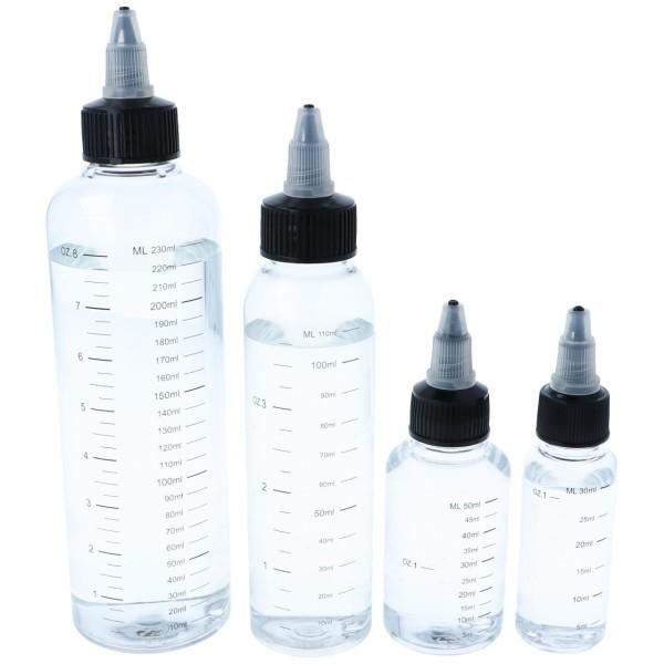 Tropf-Flasche mit Drehverschluss & Skala