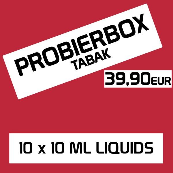 Liquid Probierbox Tabak
