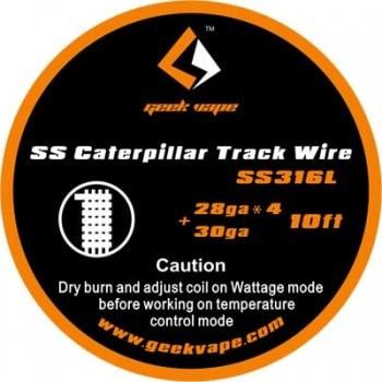 Geekvape Caterpillar Track Wire SS316L  Wickeldraht