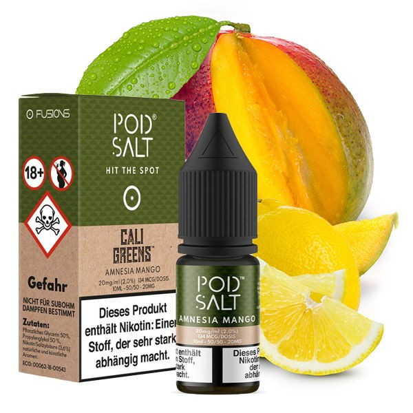 Amnesia Mango Liquid Pod Salt Fusion