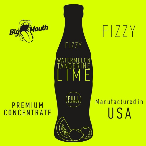 Watermelon | Tangerine | Lime Aroma Fizzy Big Mouth