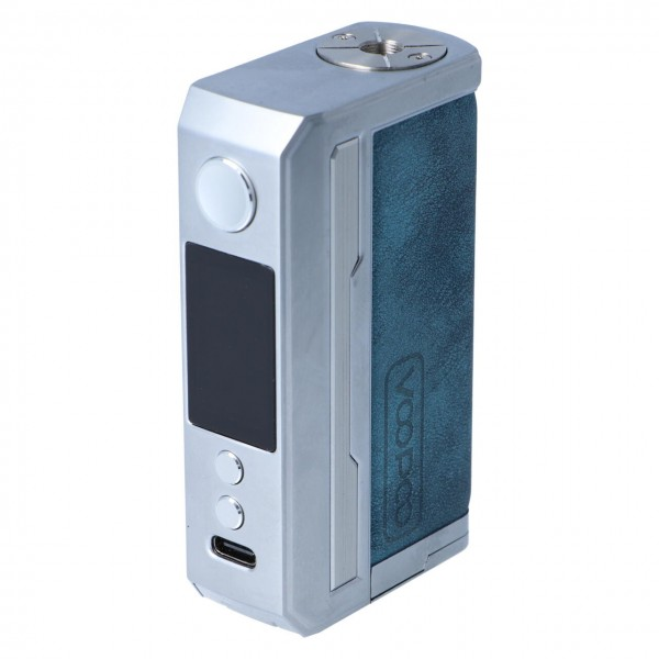 Voopoo Drag 3 Akkuträger Prussian Blue Blau USB-Anschluss