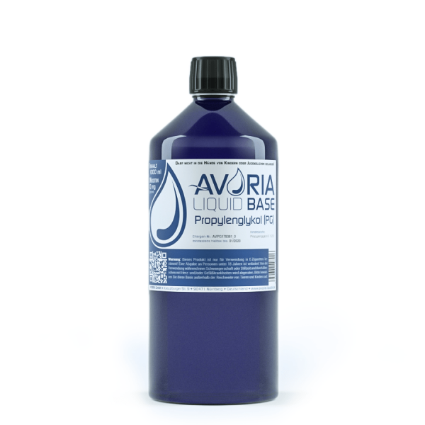 Propylenglykol Basis Liquid PG (100) Avoria