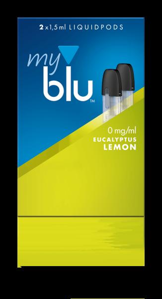myblu Eukalyptus Lemon Liquidpods