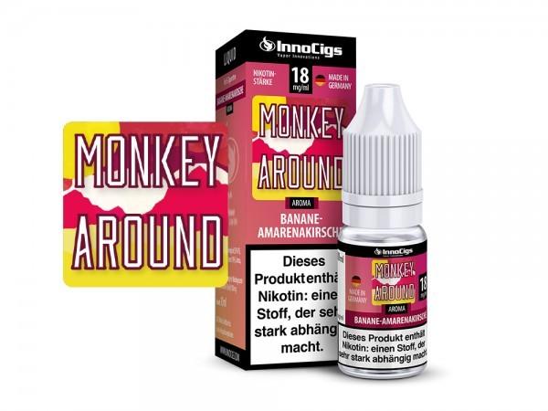 Monkey Around - Amarenakirsche & Banane Liquid Innocigs