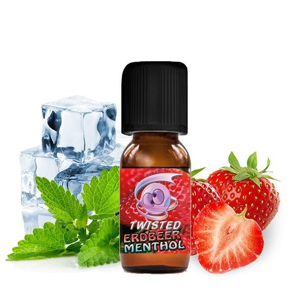 Twisted Erdbeer Menthol Aroma