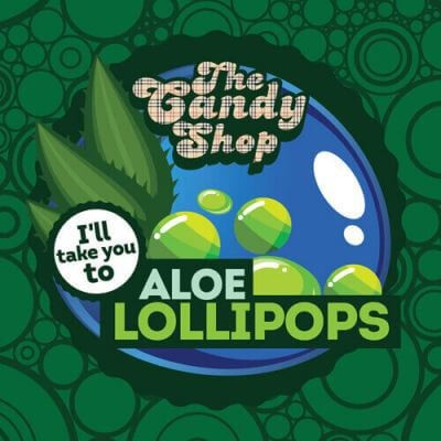Aloe Lollipops Aroma The Candy Shop Big Mouth