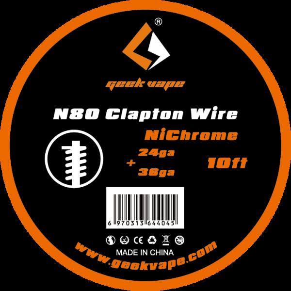 Geekvape N80 Clapton Wire NiCr Wickeldraht