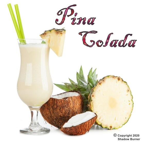 Pina Colada Aroma Shadow Burner