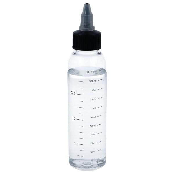 Tropf-Flasche mit Drehverschluss und Skala 100 ml