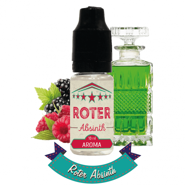 Roter Absinth Aroma Cirkus Authentic