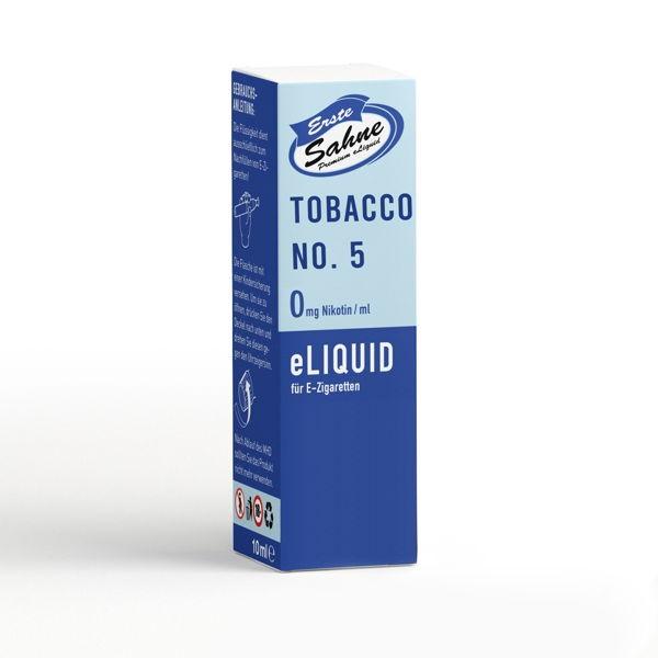 Tabak No. 5 Liquid Erste Sahne