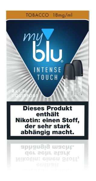myblu Intense Touch Tobacco Liquidpods