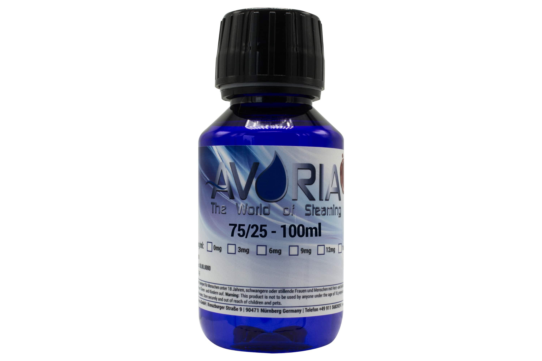Basis Liquid Avoria (75% VG / 25% PG)