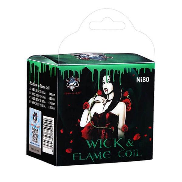 Demon Killer Wick & Flame Coil Ni80 8er Box