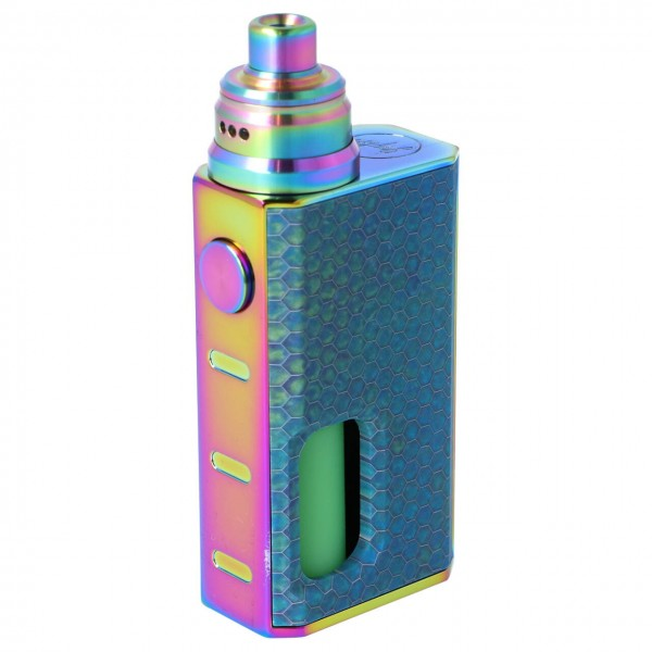 Wismec Luxotic BF Box Kit Blue Honeycomp Feuertaster