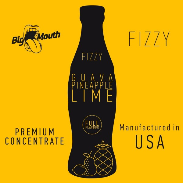 Guava | Pineapple | Lime Aroma Fizzy Big Mouth