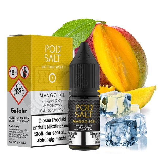 Mango Ice Liquid Pod Salt
