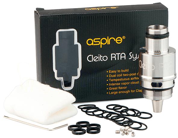 Aspire Cleito RTA System / RBA