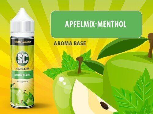 Apfelmix-Menthol Shortfill Aroma Base SC Liquid