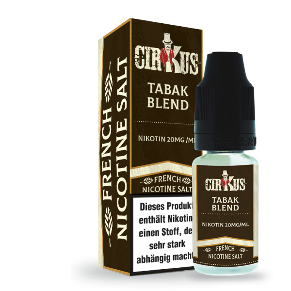 Tabak Blend Nikotin Salz Liquid Authentic CirKus