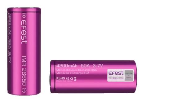 Efest Purple IMR26650