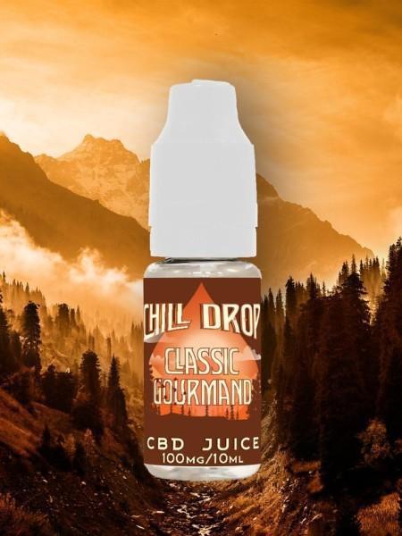 Gourmet Tobacco CBD Liquid Chill Drop