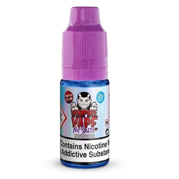 Heisenberg Nikotinsalz Liquid Vampire Vape