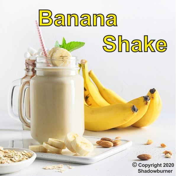 Banana Shake Aroma Shadow Burner