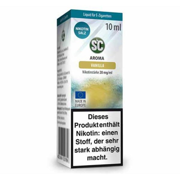 Vanilla Nikotinsalz SC Liquid