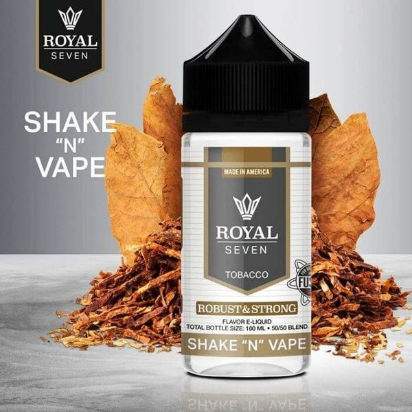 Robust & Strong Shortfill Liquid Syndicate Royal Seven