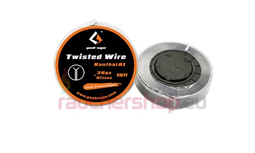 Geekvape Twisted Kanthal + Ribbon 26GA 5m