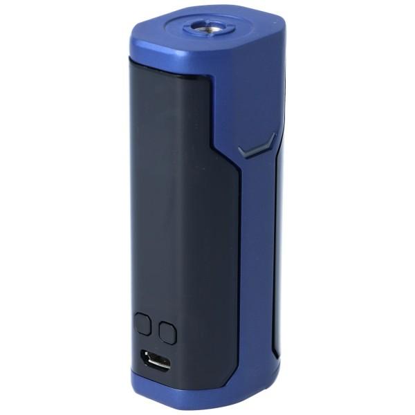 WISMEC Sinuous P80 Akkuträger Blau Tasten
