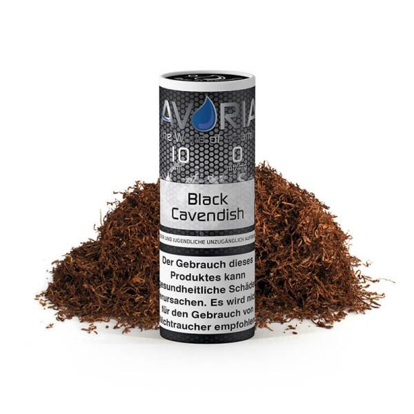 Black Cavendish Liquid Avoria