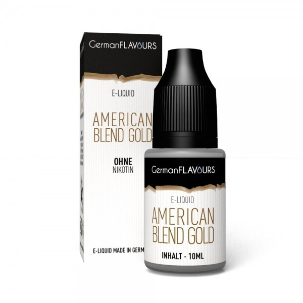 American Blend Gold Liquid German Flavours