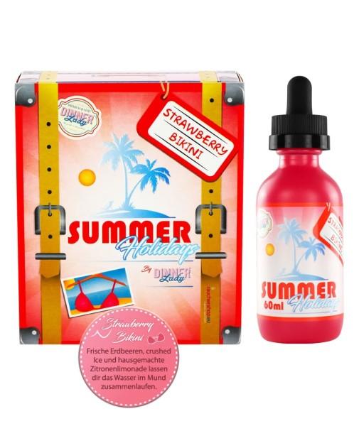 Strawberry Bikini Liquid Summer Holidays DINNER Lady