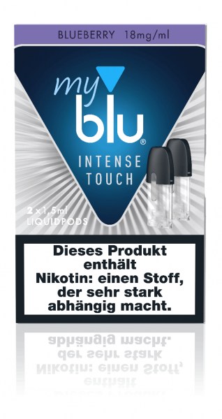myblu Intense Touch Blueberry Liquidpods