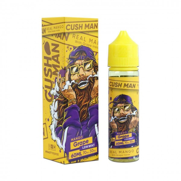 Mango Grape Liquid Nasty Juice Cush Man