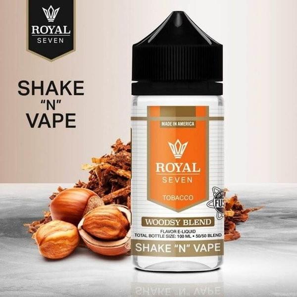 Woodsy Blend Shortfill Liquid Syndicate Royal Seven